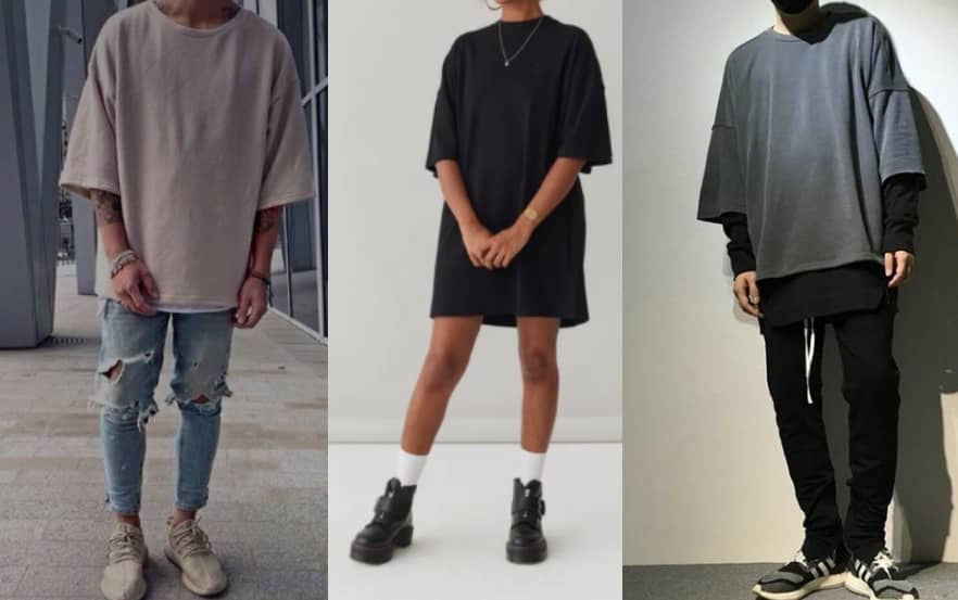 5 trendy ways to wear Baggy T-shirts
